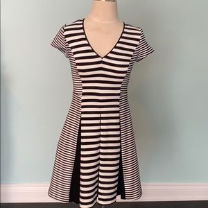 Lovely Banana Republic fit and flare dress